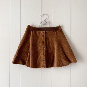 Brandy Melville Brya Corduroy Skirt